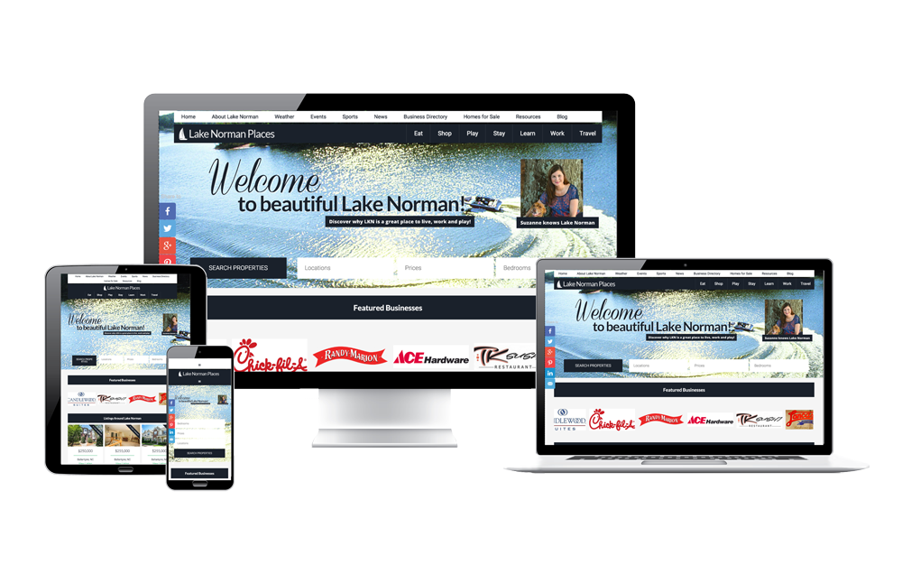Lake Norman Places website
